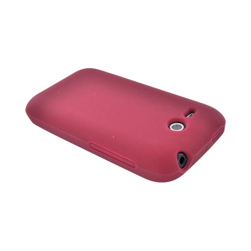 HTC FreeStyle Silicone Case - Maroon