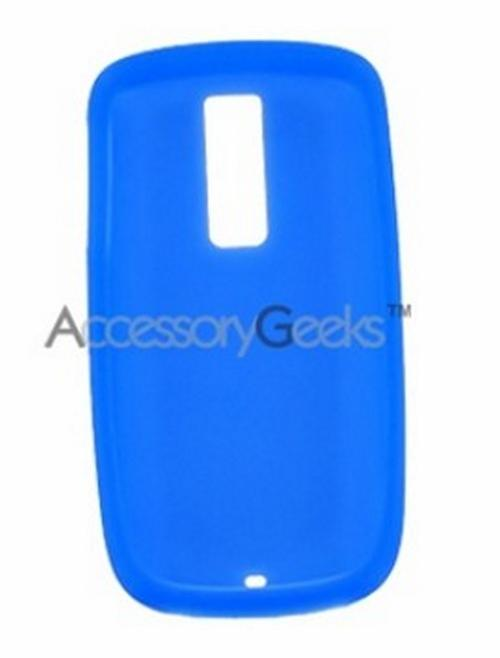 T-Mobile MyTouch 3G Silicone Case, Rubber Skin - Blue