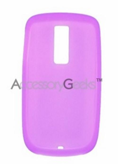 T-Mobile MyTouch 3G Silicone Case, Rubber Skin - Purple