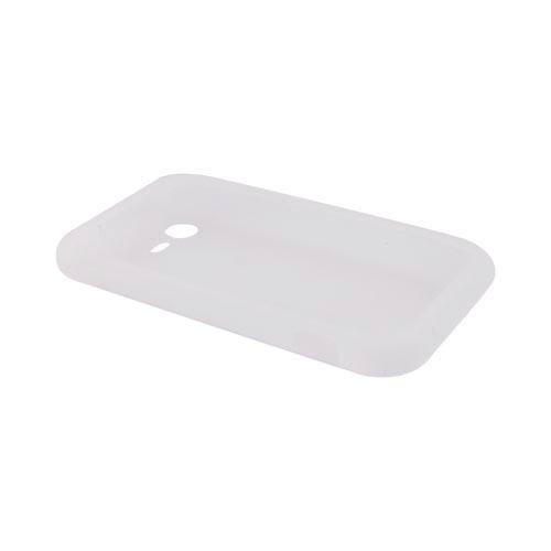 HTC Droid Incredible 2 Silicone Case - Frost White