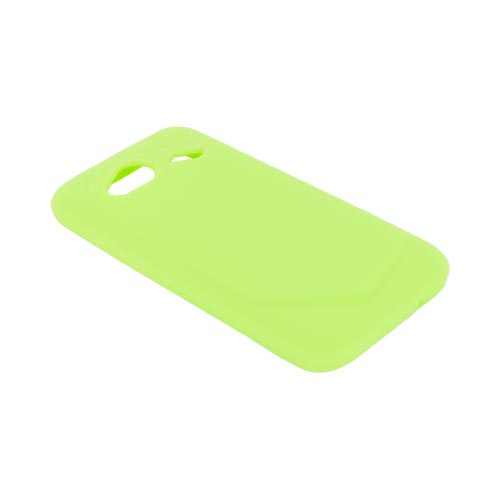 HTC Droid Incredible 4G Silicone Case - Neon Green