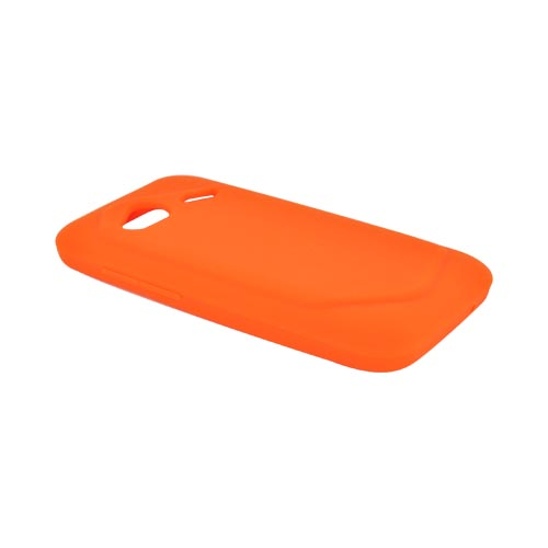 HTC Droid Incredible 4G LTE Silicone Case - Orange