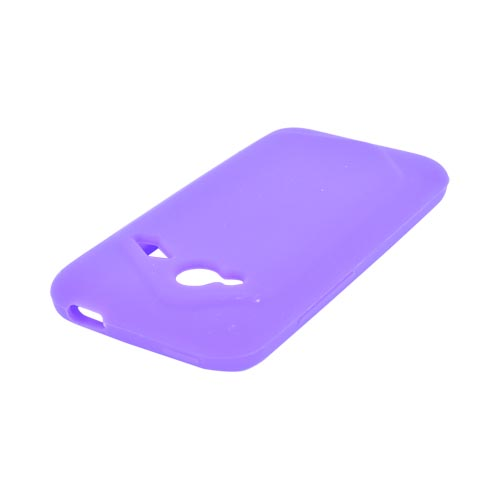 HTC Droid Incredible 4G Silicone Case - Purple