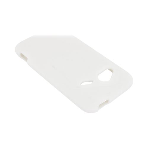 HTC Droid Incredible 4G Silicone Case - White