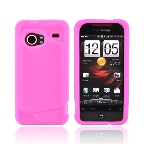 HTC Droid Incredible Silicone Case - Pink