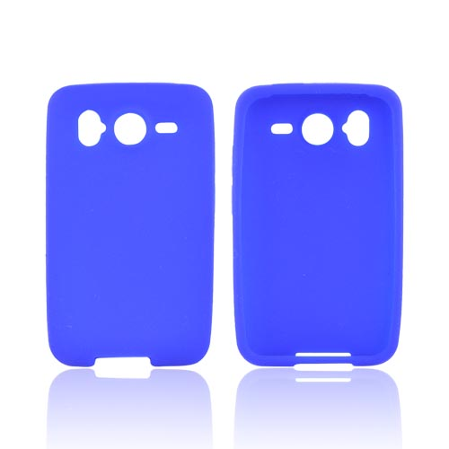 HTC Inspire 4G Silicone Case - Blue