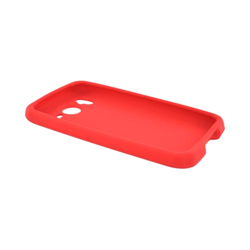 HTC Inspire 4G Silicone Case - Red
