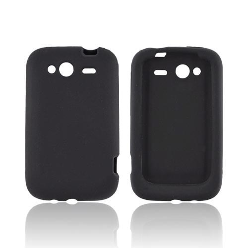 HTC Wildfire S (GSM) Silicone Case - Black