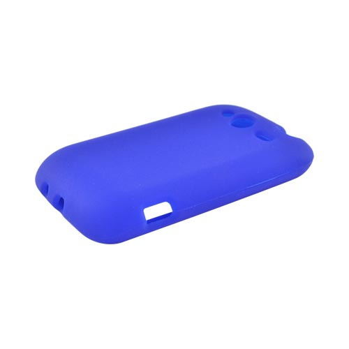 HTC Wildfire S (GSM) Silicone Case - Blue