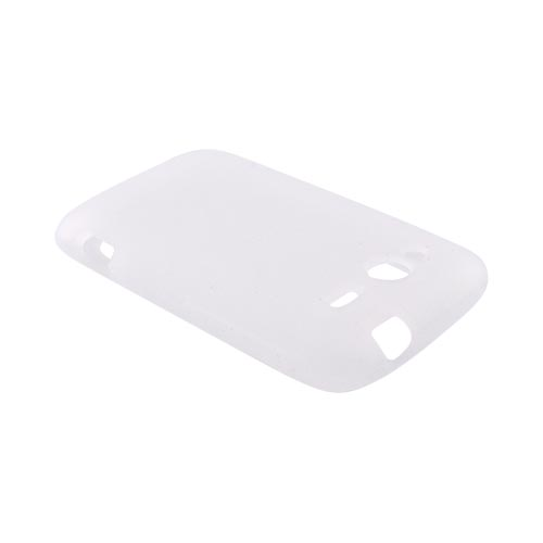 HTC Wildfire S (GSM) Silicone Case - Frost White