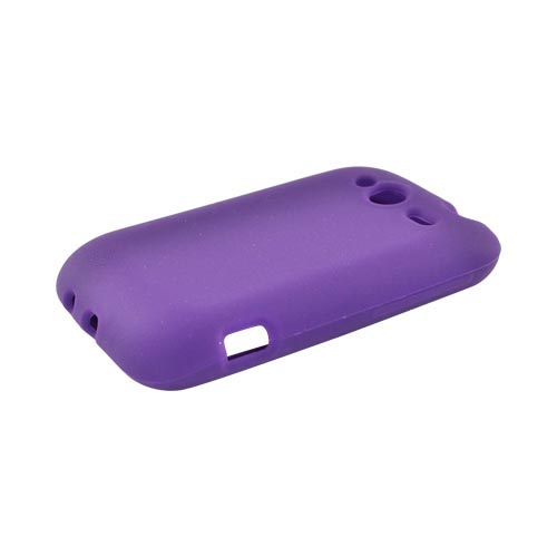 HTC Wildfire S (GSM) Silicone Case - Purple