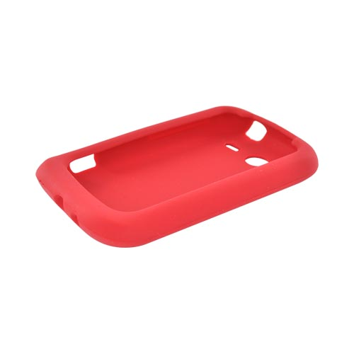 HTC Wildfire S (GSM) Silicone Case - Red