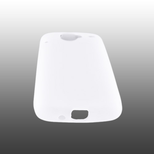 Google Nexus One Silicone Case, Rubber Skin - Frost White