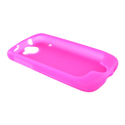 Google Nexus One Silicone Case, Rubber Skin - Hot Pink