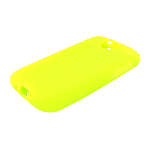 Google Nexus One Silicone Case, Rubber Skin - Neon Green
