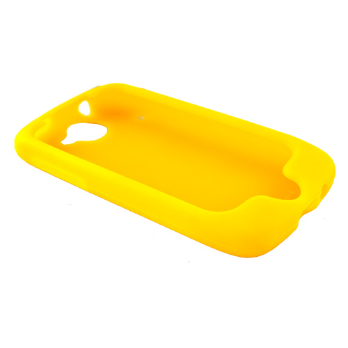 Google Nexus One Silicone Case, Rubber Skin - Yellow
