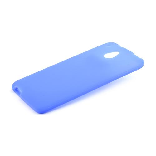 Blue Silicone Skin Case for HTC One Mini