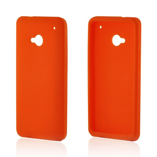Orange Silicone Case for HTC One