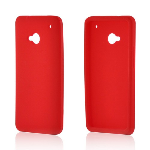 Red Silicone Case for HTC One
