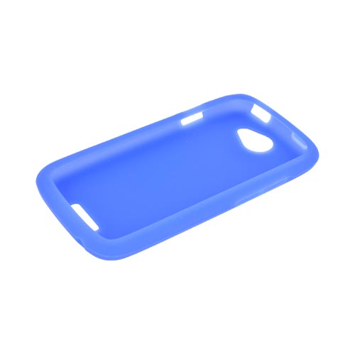 HTC One S Silicone Case - Blue