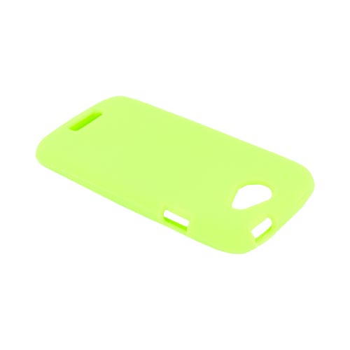 HTC One S Silicone Case - Neon Green