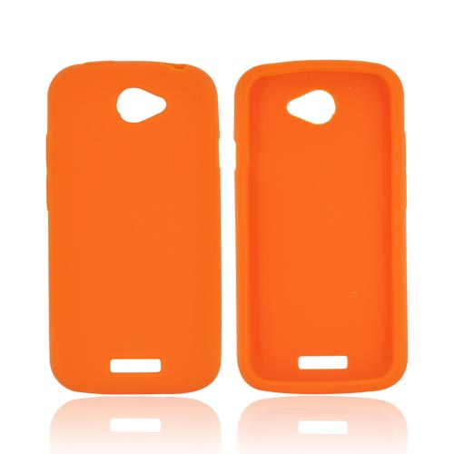 HTC One S Silicone Case - Orange