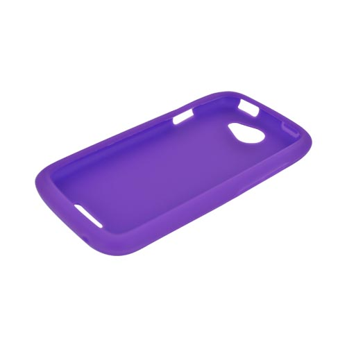 HTC One S Silicone Case - Purple