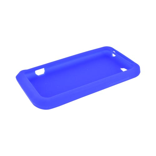 HTC One V Silicone Case - Blue