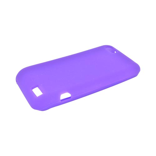 HTC One V Silicone Case - Purple