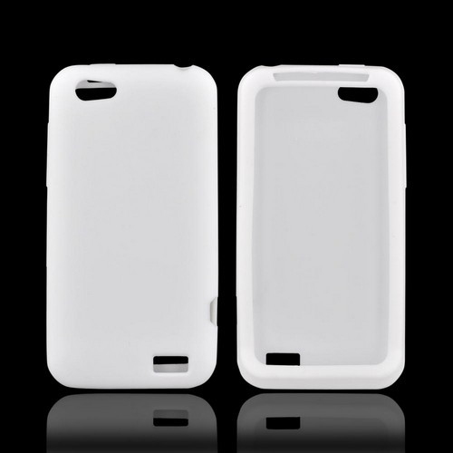 HTC One V Silicone Case - White