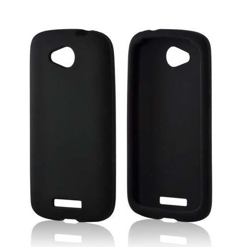 Black Silicone Case for HTC One VX
