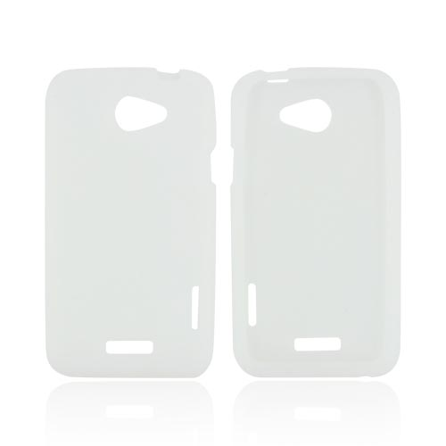 HTC One X Silicone Case - Frost White
