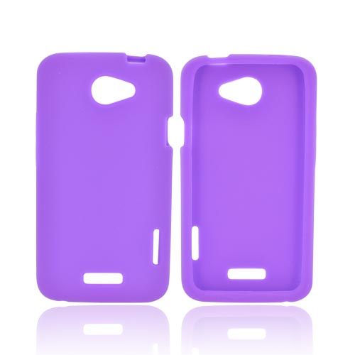 HTC One X Silicone Case - Purple