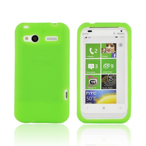HTC Radar 4G Silicone Case - Neon Green