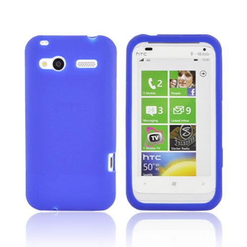 HTC Radar 4G Silicone Case - Blue