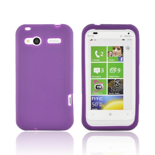 HTC Radar 4G Silicone Case - Purple