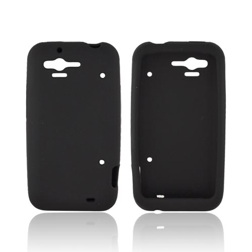 HTC Rhyme Silicone Case - Black