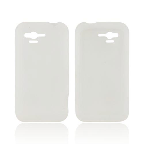 HTC Rhyme Silicone Case - Frost White