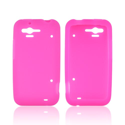 HTC Rhyme Silicone Case - Hot Pink