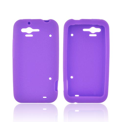 HTC Rhyme Silicone Case - Purple