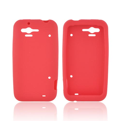 HTC Rhyme Silicone Case - Red