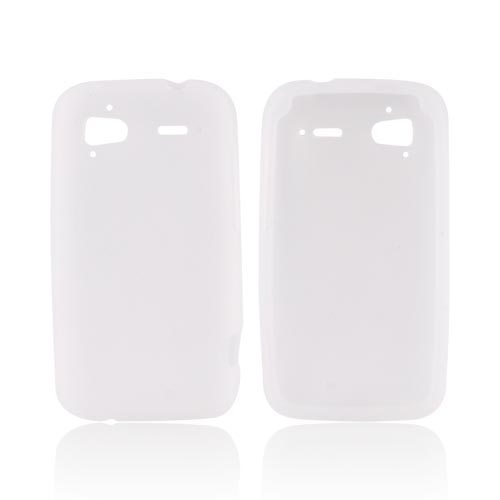 HTC Sensation 4G Silicone Case - Frost White