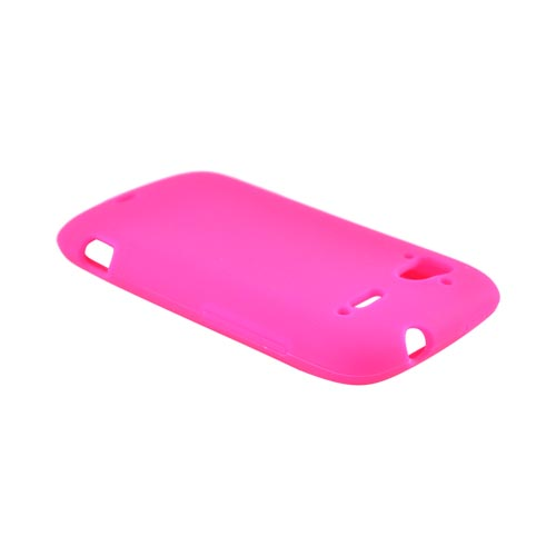 HTC Sensation 4G Silicone Case - Hot Pink