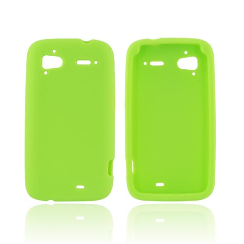 HTC Sensation 4G Silicone Case - Neon Green