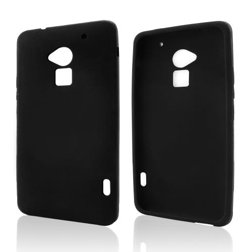 Black Silicone Skin Case for HTC One Max