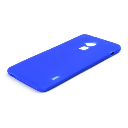 Blue Silicone Skin Case for HTC One Max