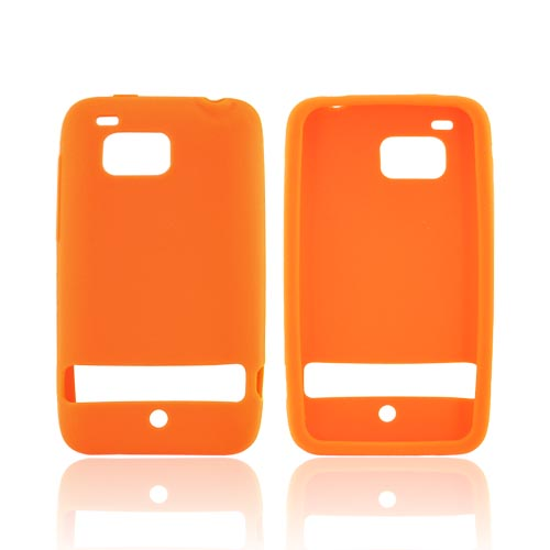 HTC Thunderbolt Silicone Case - Orange