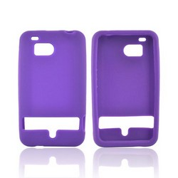 HTC Thunderbolt Silicone Case - Purple