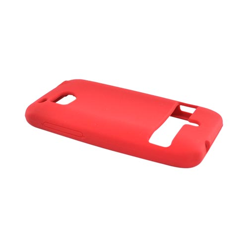 HTC Thunderbolt Silicone Case - Red