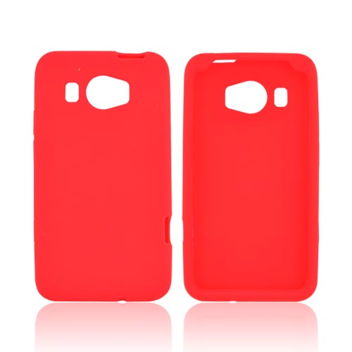 HTC Titan 2 Silicone Case - Red